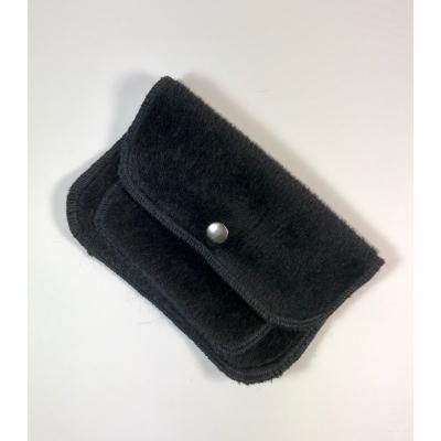 porte monnaie alpaga noir