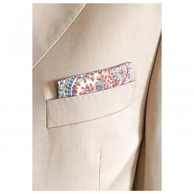 Pochettes costume - Soie multicouleur
