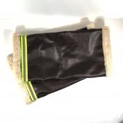 Manchons Vélo - chaleur et securité - Simili aviateur brun fausse fourrure- idee cadeau