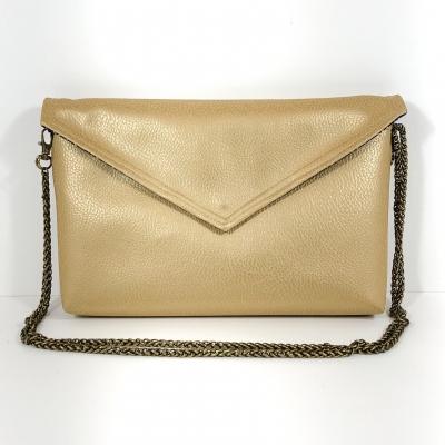 sac paillettes Aubergine gris