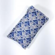 Étuis lunettes matelassé - coton Liberty bleu