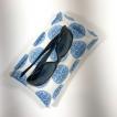 Etuis lunette coton Japon bleu
